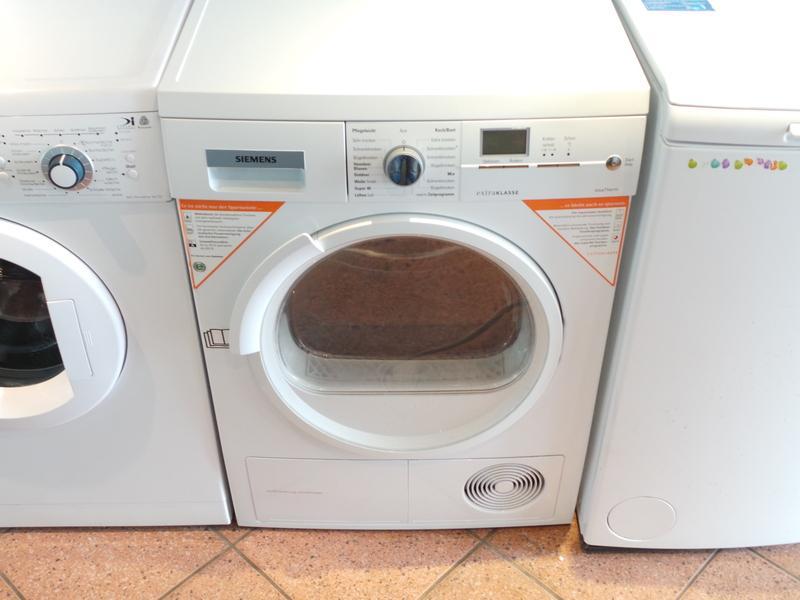 ihre wmz waschmaschinenzentrale bietet w rmepumpe siemens siemens wt46w590. Black Bedroom Furniture Sets. Home Design Ideas